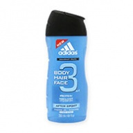 Adidas Shower Gel - After Sport Hydrating 3 in 1 Face, Hair & Body 250ml