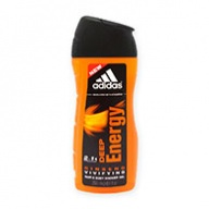 Adidas Shower Gel - Deep Energy 2 in 1 Hair & Body 250ml