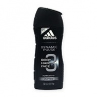 Adidas Shower Gel - Dynamic Pulse 2 in 1 Hair & Body 250ml