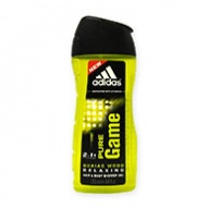 Adidas Shower Gel - Pure Game 3 in 1 250ml