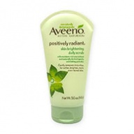 Aveeno Face Scrub - Positively Radiant Skin Brightening Daily Scrub 140g