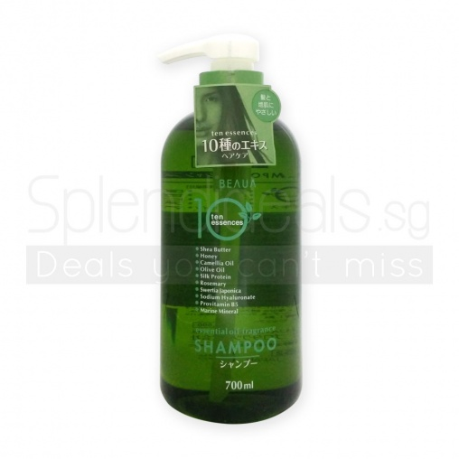Beaua Shampoo - 10 Essences Essence Oil Fragrance Shampoo 700ml
