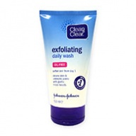 Clean & Clear Face Scrub - Exfoliating Daily Wash with Micro Beads 150ml