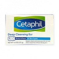 Cetaphil Soap Bar - Deep Cleansing Bar for Body And Face 127g