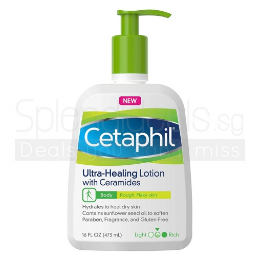 Cetaphil Lotion - Ultra Healing Lotion with Ceramides 473ml