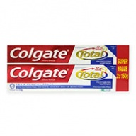 Colgate Total 12h Protection Professional Whitening Tooth Gel 150g x 2