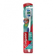 Colgate Toothbrush - 360 Degrees Whole Mouth Clean - Medium 1s