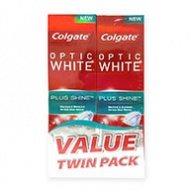Colgate Toothpaste = Optic White Plus Shine Toothpaste 100g x 2