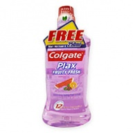 Colgate Mouth Rinse - Plax Fruity Fresh 1000ml