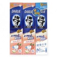 Darlie All Shiny White Apple Mint Toothpaste 2x140g+90g