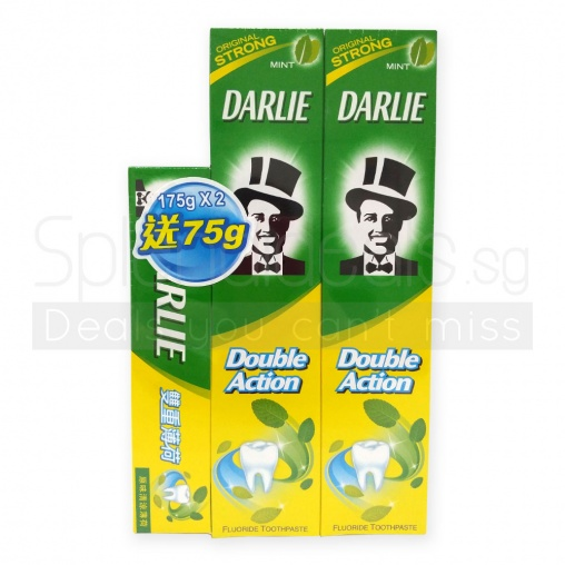 Darlie Double Action Toothpaste 2x175g+75g