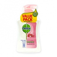 Dettol Hand Wash - Skin Care Anti Bacterial pH Balanced 250ml x 3