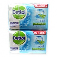 Dettol Body Soap - Cool Antiseptic (110gx4)