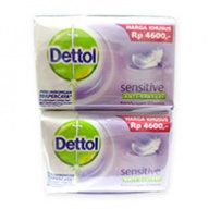 Dettol Body Soap - Sensitive Antiseptic (110gx4)