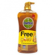 Dettol Shower Gel + Refill - Gold Classic Clean 950ml +250ml