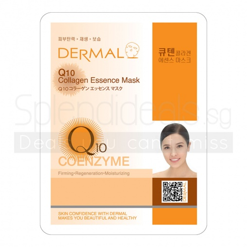 Dermal Collagen Mask - Q10 23g x 10s