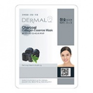 Dermal Collagen Mask - Charcoal 23g x 10s