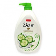 Dove Body Wash - Refreshing Cucumber and Green Tea 1000ml