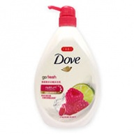 Dove Body Wash - Go Fresh Renew W/Raspberry and Lime 1000ml