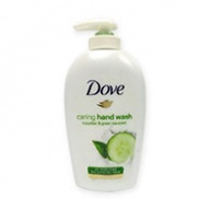 Dove Hand Wash - Caring with Cucumber + Green Tea Scent 250ml