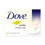 Dove Soap Bar - White Beauty With Moisturizing Milk 100g