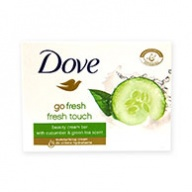 Dove Soap Bar - Fresh Touch with Cucumber & Green Tea Scent 100g
