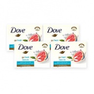 Dove Soap Bar - Restore with Blue Fig and Orange Blossom Scent 100g x 4s