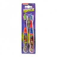 Fun Characters Toothbrush - Teenage Mutant Ninja Turtle Soft Souple for Ages 3+ 2s