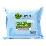 Garnier Cleansing Wipes - Skin Naturals For Sensitive Skin (25s)
