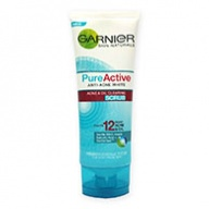 Garnier Facial Scrub - Anti Acne White Pure Active 100ml