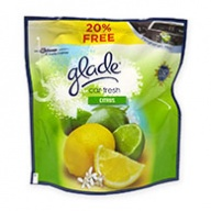 Glade Car Fresh Citrus Air Freshener 70g +15g