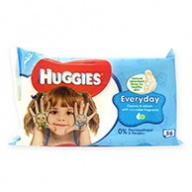 Huggies Everyday Cleanse And Refresh Baby Wipes 56 Wipes