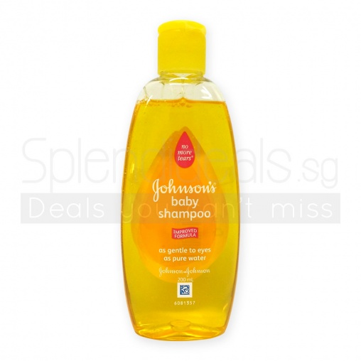 Johnsons Baby Shampoo - Regular Gold 200ml