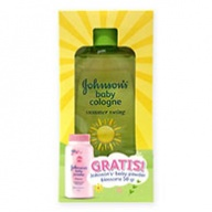 Johnsons Baby Cologne - Summer Swing 100ml + Blossom Powder 50g