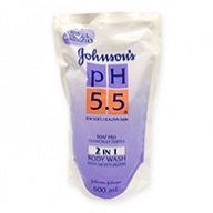 Johnson's Body Wash - PH5.5 2 in 1 Refill Pack 600ml