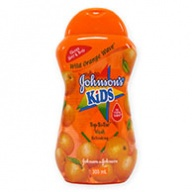 Johnson's Kids Top to Toe Wash Refresh (Orange) 300ml