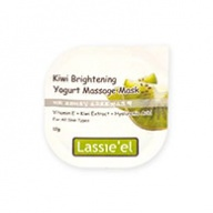 Lassie'el Kiwi Brightening Yogurt Massage Mask (12g x 5)