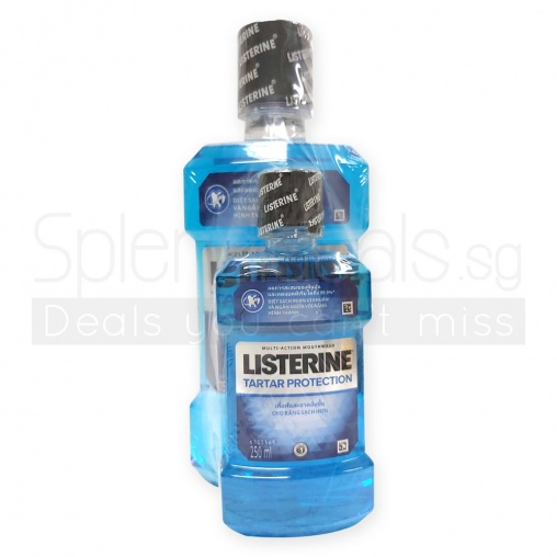 Listerine Ultraclean Tartar Protection Antiseptic Mouthwash 750ml