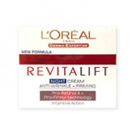 Loreal Revitalift Anti Wrinkle + Firming Intensive Action Night Cream 50ml