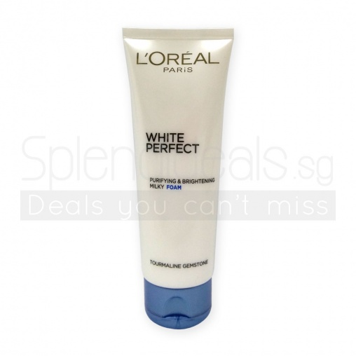 Loreal White Perfect Purifying & Brightening Milky Foam 100ml