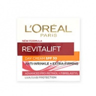 Loreal Revitalift Day Cream - SPF 30 Anti Wrinkle + Firming  50ml