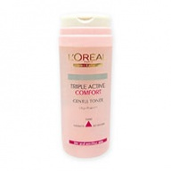 Loreal Toner - Triple Active Comfort Gentle for Dry & Sensitive Skin 200ml