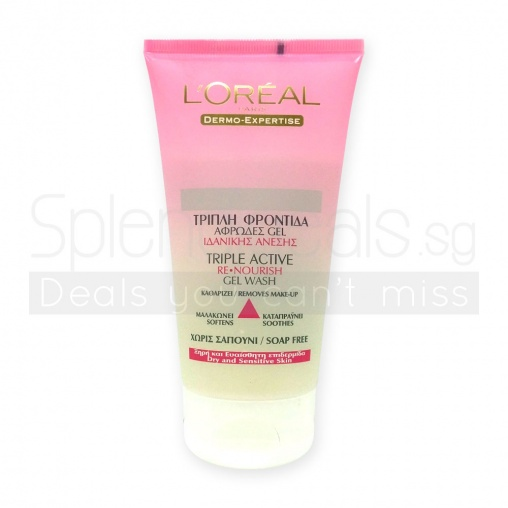 loreal lotion facial cleanser