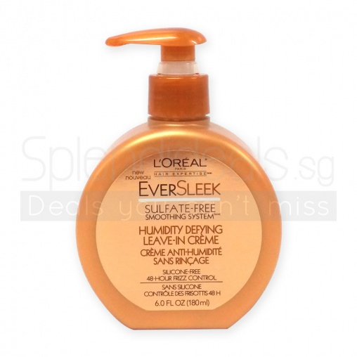 Loreal Hair Expertise Treatment - EverSleek Humidiity Defying Leave In Creme 180ml