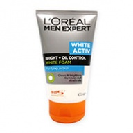 Loreal MEN Expert White Activ Bright + Oil Control White Foam Cleanser 100ml