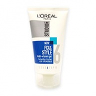 Loreal Studio Line Fix & Style Multi Vitamin Gel Very Strong Hold 150ml