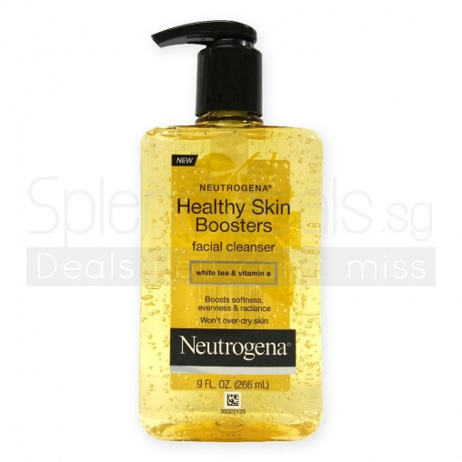 Neutrogena Pump Cleanser - Healthy Skin Boosters 266ml