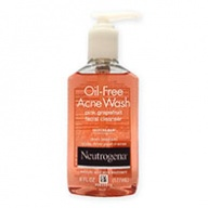 Neutrogena Pump Cleanser - Oil Free Acne Wash Pink Grapefruit 177ml