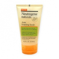 Neutrogena Face Scrub - Acne Foaming Scrub 124ml