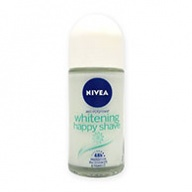 Nivea Deodorant Roll On - Whitening Happy Shave 50ml